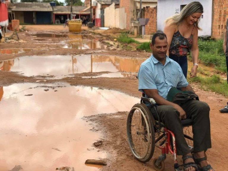 BAIRRO JARDIM SANTANA – Vereadora Ada Dantas pede urgência da SEMOB nos reparos das ruas