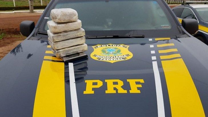 PRF apreende 18,02 Kg de Cocaína e prende 4 pessoas durante operação de combate ao crime neste sábado